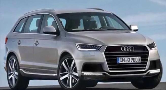 Серая Audi Q9