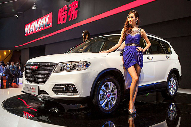 Презентация китайских авто