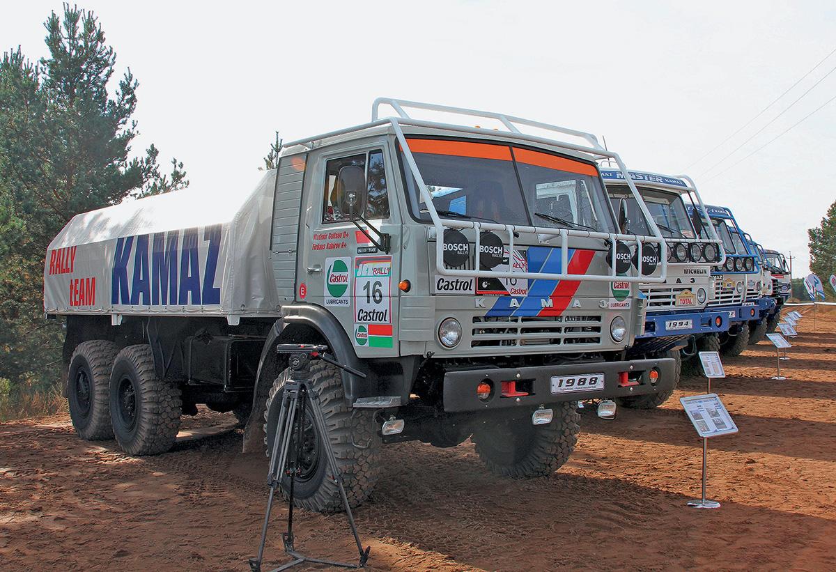 КАМАЗ-4310С 1988 года