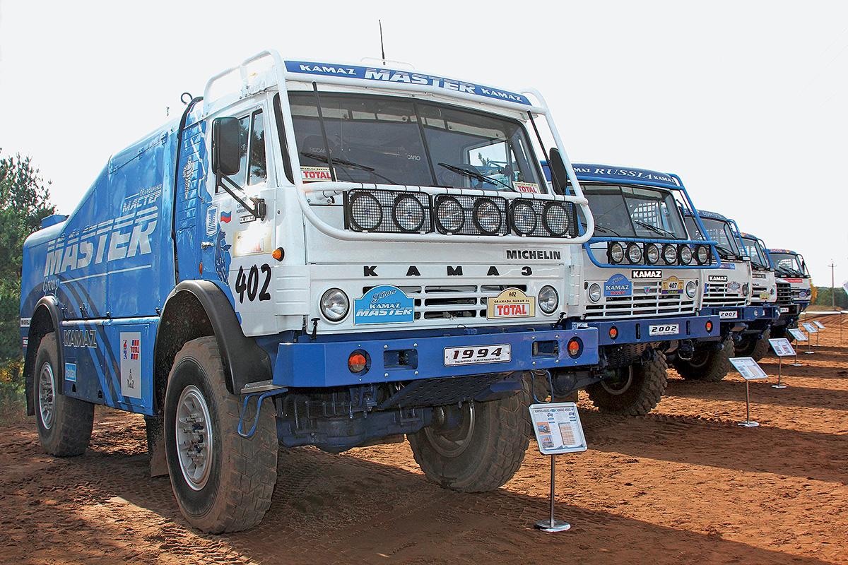 Победитель Дакар 1996 КАМАЗ-49251