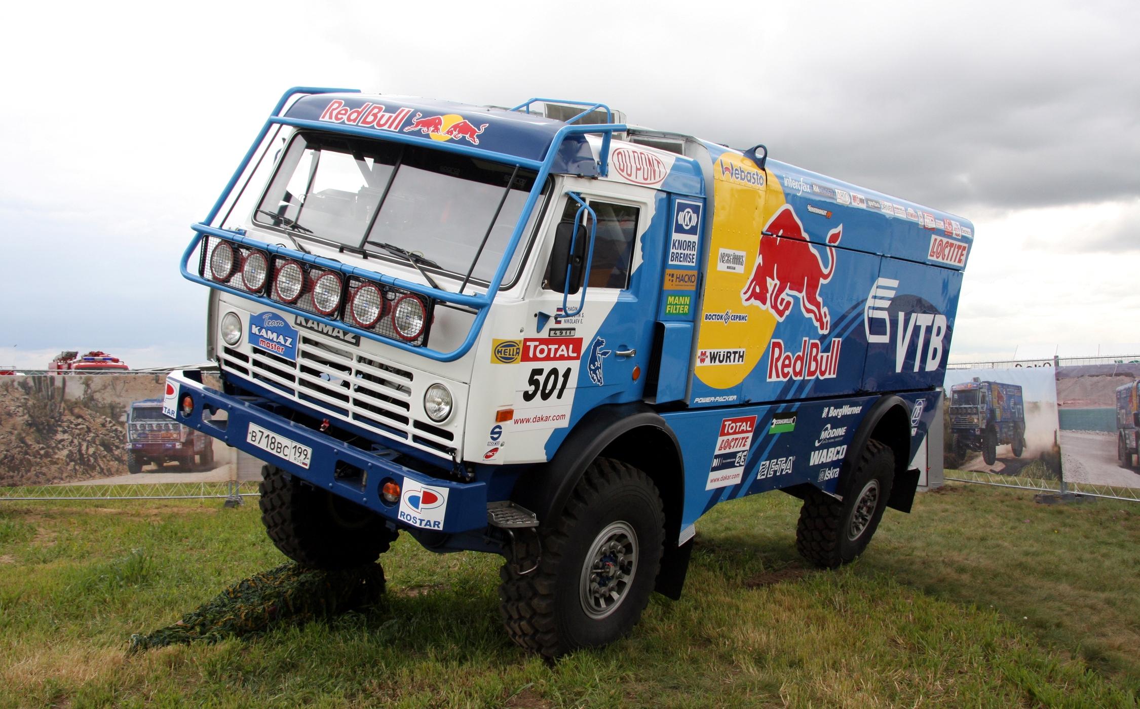 Спортивный КАМАЗ-4911