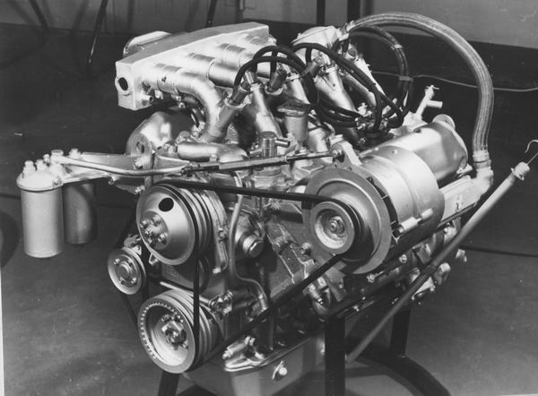 Мотор Oldsmobile V8 для дизельного топлива
