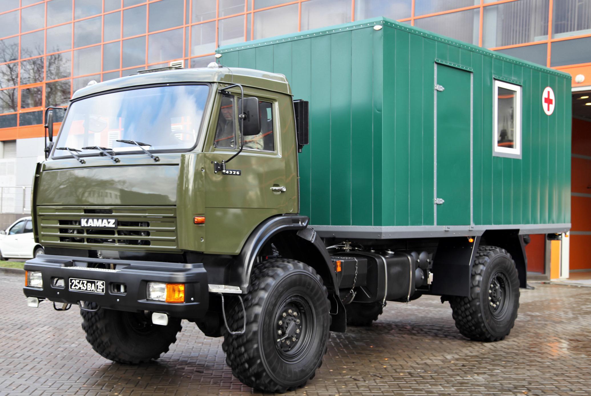 Модификация 2011 года КАМАЗ-4326