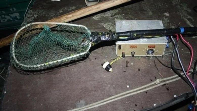 Электроудочка для ловли рыбы