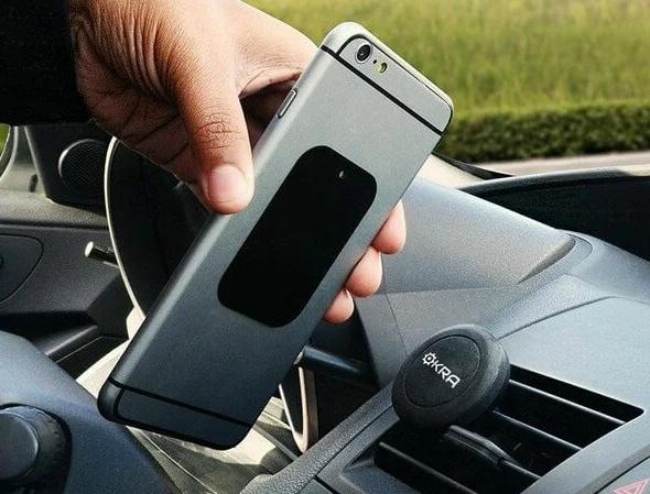 Нескользящая пластина на телефон