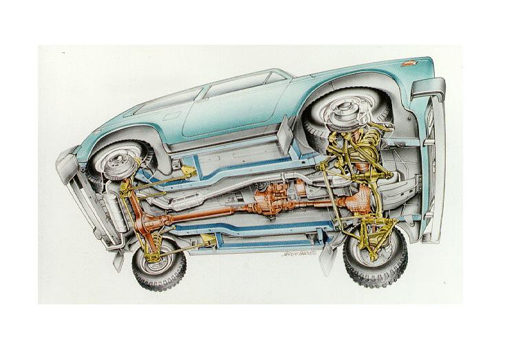 Днище Lada 4x4
