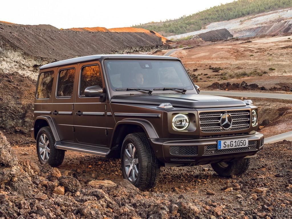Mercedes G-класса на бездорожье