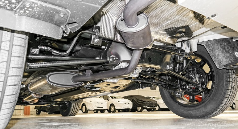 Днище Renault Duster
