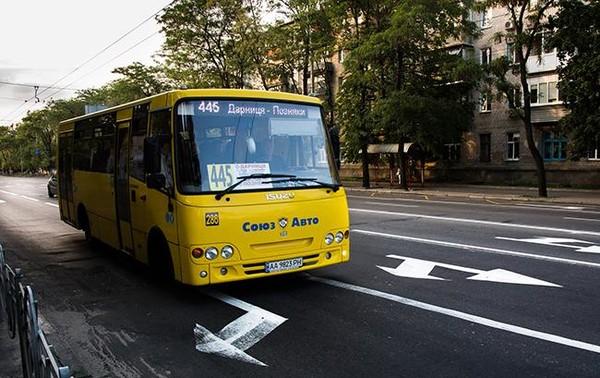 Киевский автобус 445
