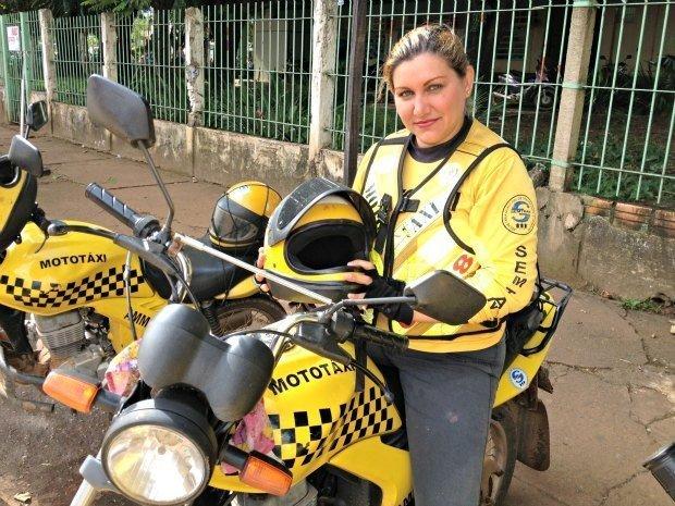 Тайское такси-мотоцикл