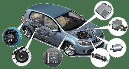 Авто с газобалонным оборудованием