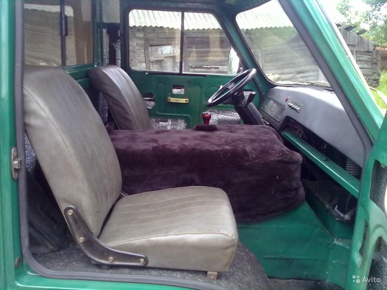 Руль и передние сидения ЕРАЗ
