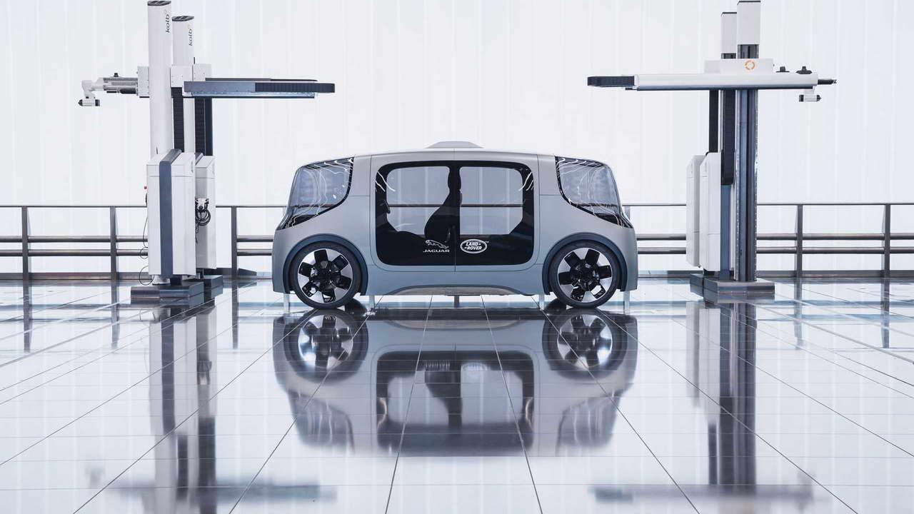 Электромобиль от Jaguar Land Rover