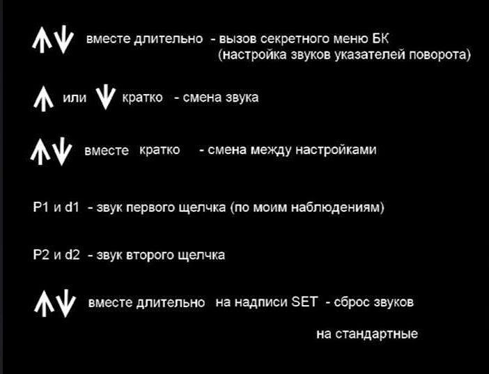 Меню Лада Веста