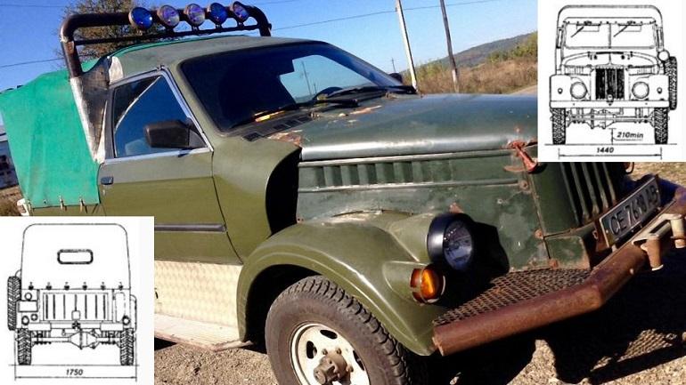 Гибрид ГАЗ-69