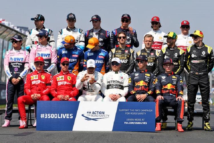 Состав Формулы 1 в 2020 году