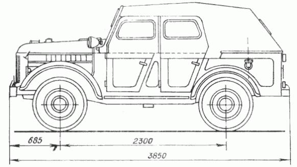 Схема тюнинга ГАЗ