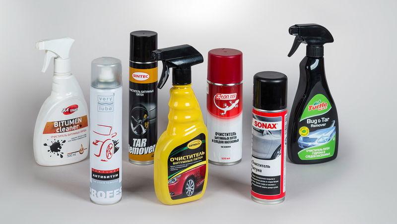Средства для мытья колес