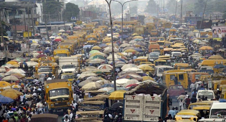 Затор в Лагосе