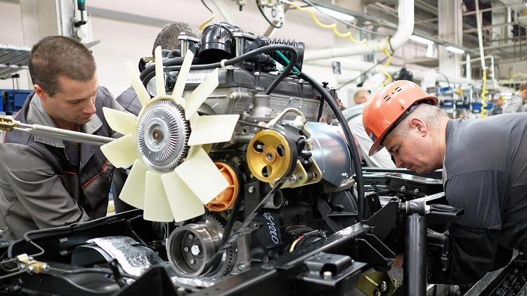Ученые испытывают двигатель