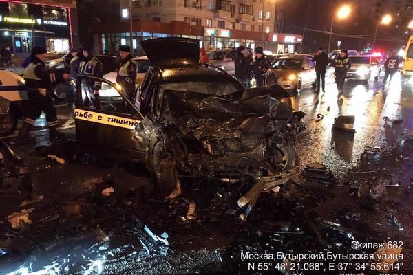 Авария на Бутырской
