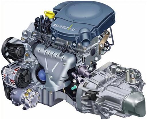Мотор Renault K7M