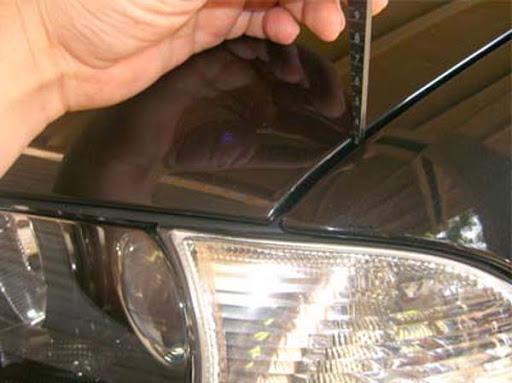 Замер зазоров автомобиля