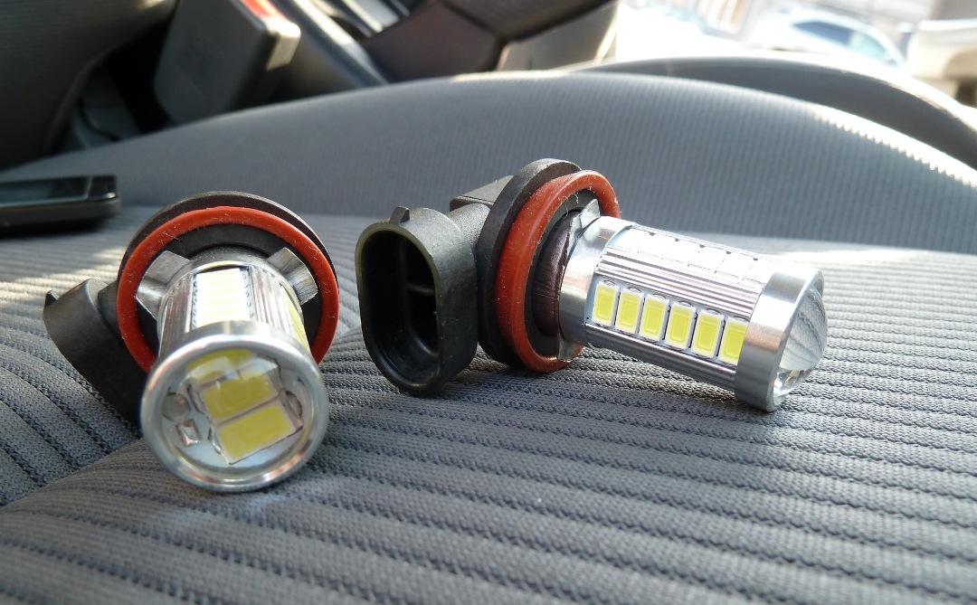 Чем грозит установка светодиодных ламп в противотуманные фары по закону