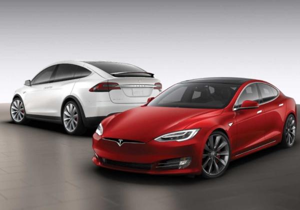 Tesla Model S, X, 3