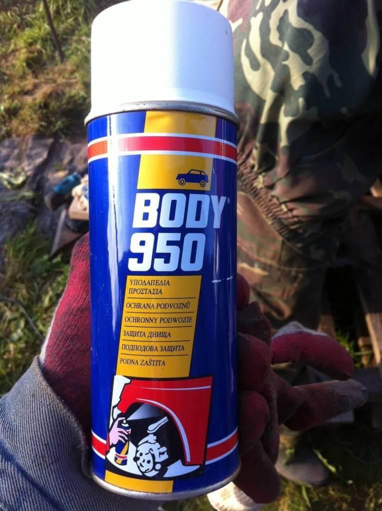 Антикоррозийное средство Body 950 от ржавчины