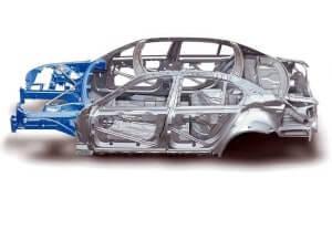 Как вытягивают кузов автомобиля