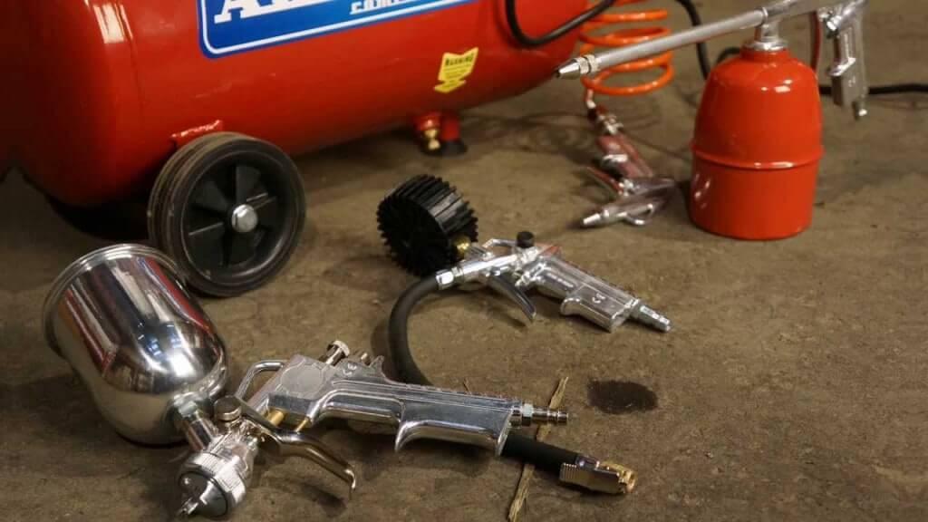 Рекомендации по выбору компрессора краскопульта для покраски автомобиля