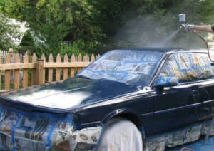 Настройка краскопульта для покраски автомобиля