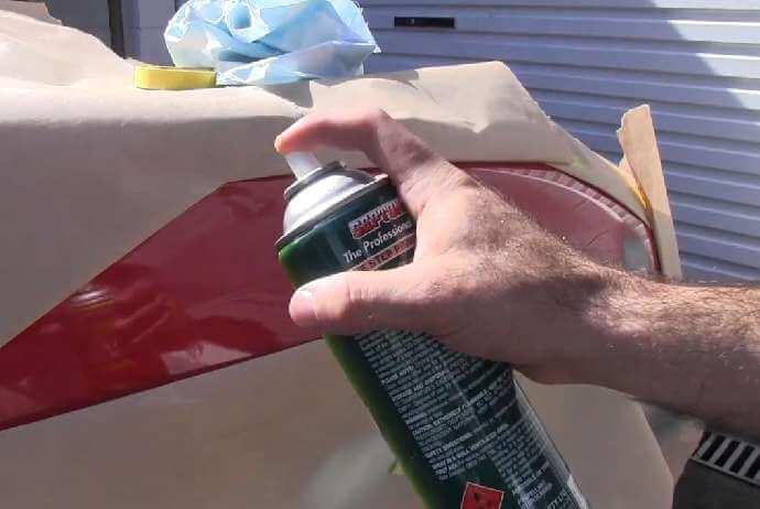 Как красить баллончиком авто своими руками 14