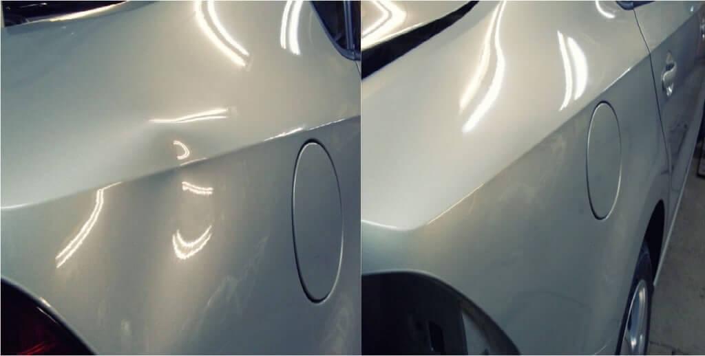 Современные средства удаление вмятин с кузова автомобиля