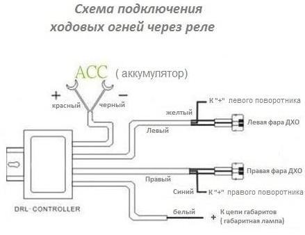Как подключить контроллер ДХО
