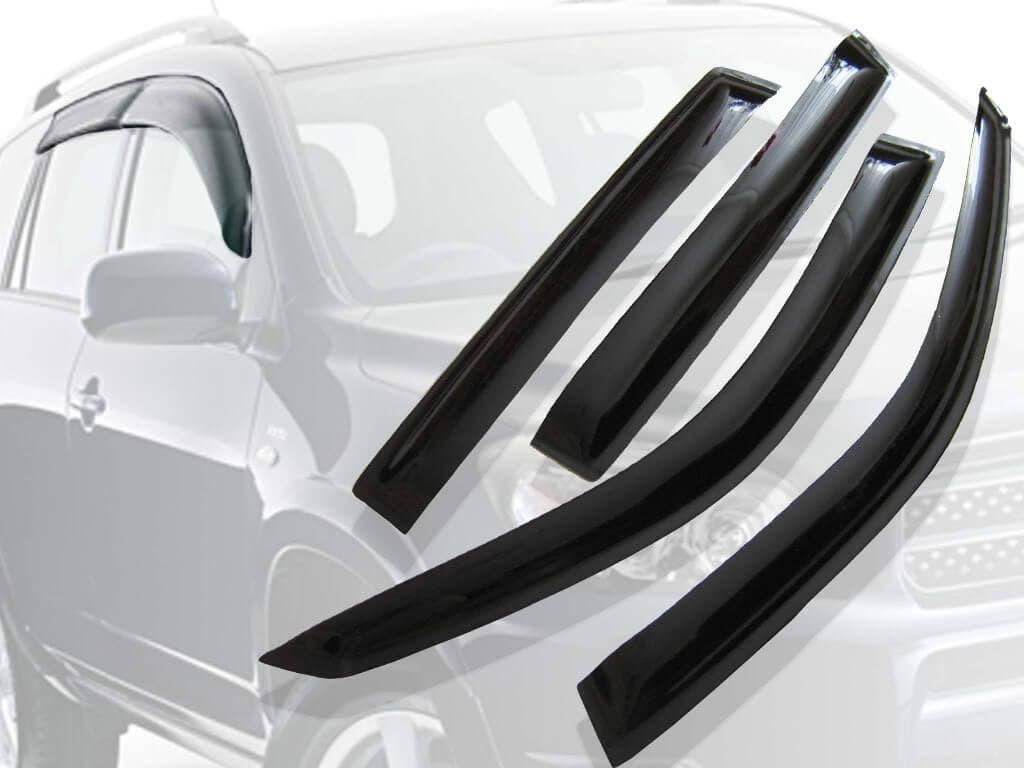 Дефлекторы на окна автомобиля