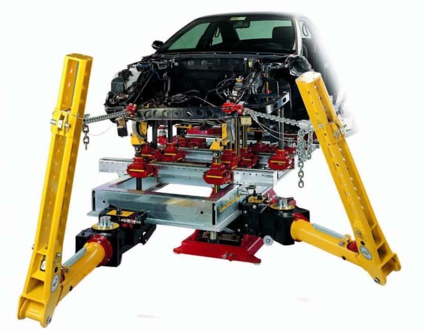 Размеры стапеля для кузовного ремонта