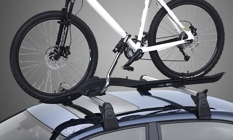 Крепление велосипеда на крышу
