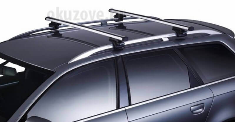 Установка багажника на рейлинги автомобиля