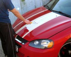 Покраска авто валиком