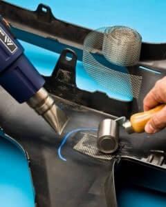 Инструменты и материалы для пайки бамперов