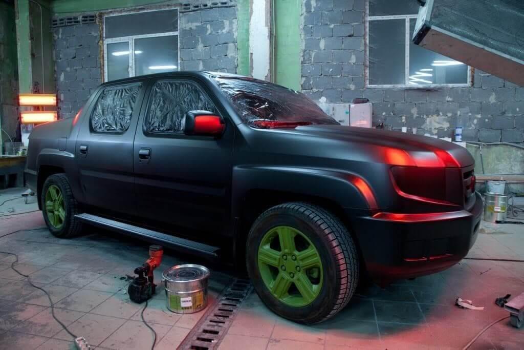 Покраска автомобиля электрическим краскопультом