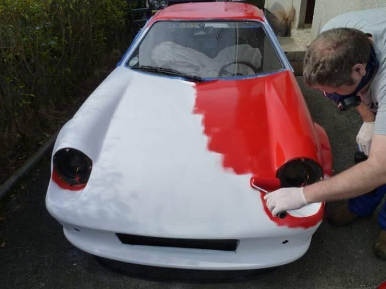 Как покрасить автомобиль своими руками на улице