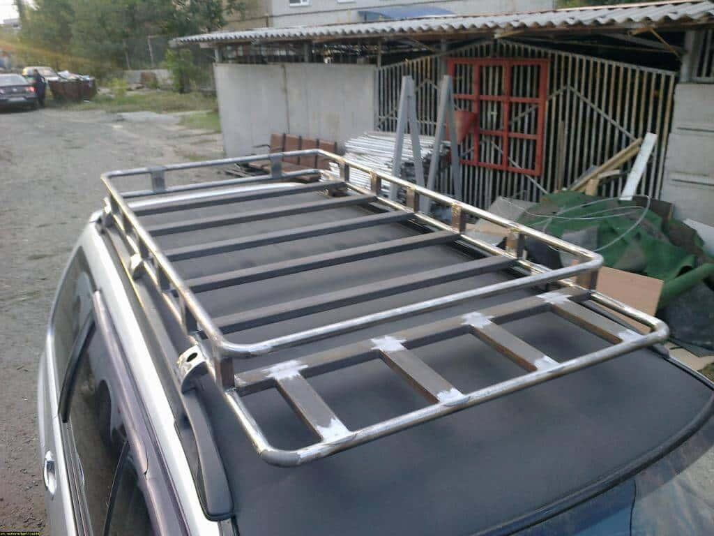 Как сделать бокс на крышу автомобиля своими руками
