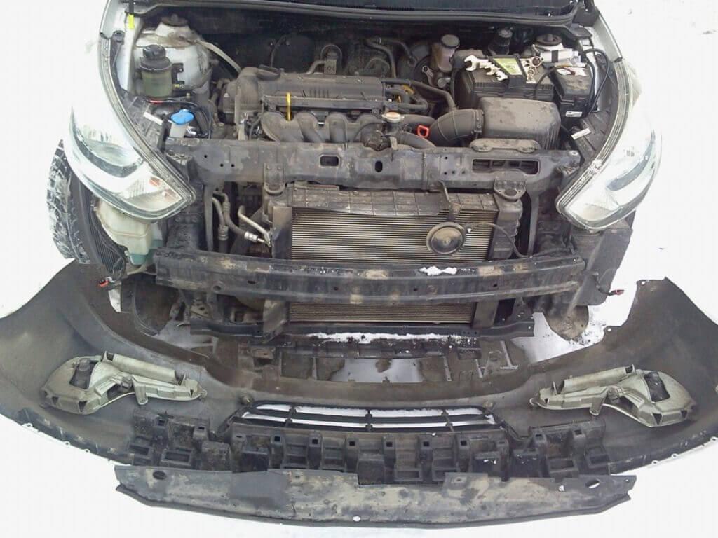 Бампер Hyundai Solaris
