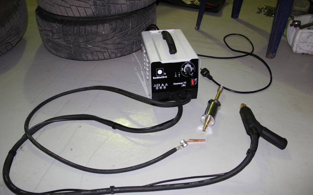 электрическая схема управления споттера