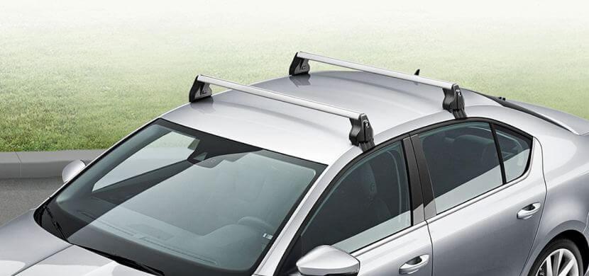 Багажник на крышу автомобиля шкода октавия а7 и а5