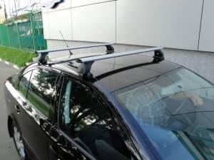Багажник на крышу автомобиля киа рио