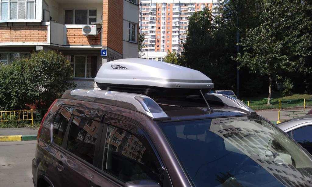 nissan x-trail t30 поперечины на крышу